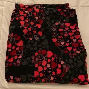 LuLaRoe Valentines leggings